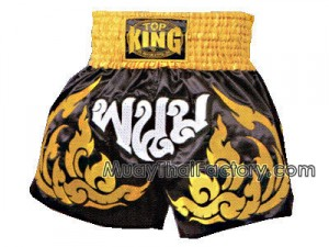 Top king thai boxing shorts