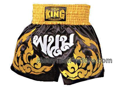 Top king thai boxing shorts